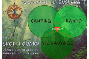 définition du bushcraft bivouac camping rando vie sauvage